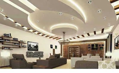 Latest false ceiling designs for hall Modern POP design for living room 2018