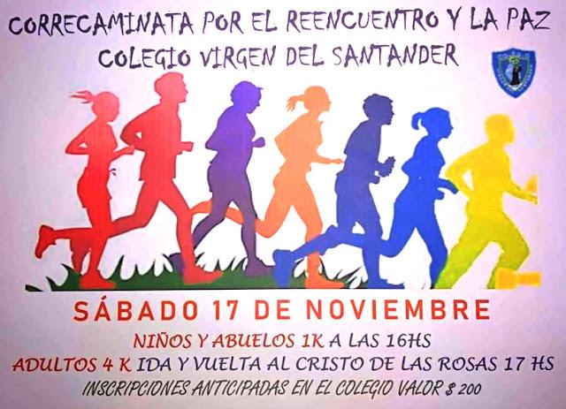 4k y 1k Correcaminata del Colegio Virgen del Santander (Maldonado, 17/nov/2018)