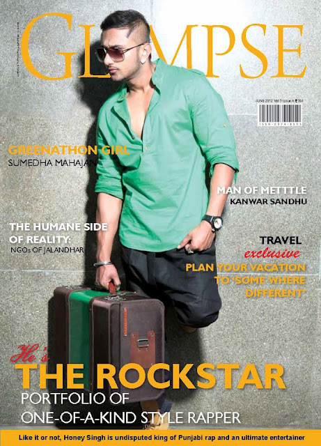 Yo Yo Honey Singh on A LifeStyle and Fashion Magazine 2012 ...