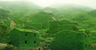 Αυτό είναι το χωριό της Κίνας που έχει πράσινα σπίτια!