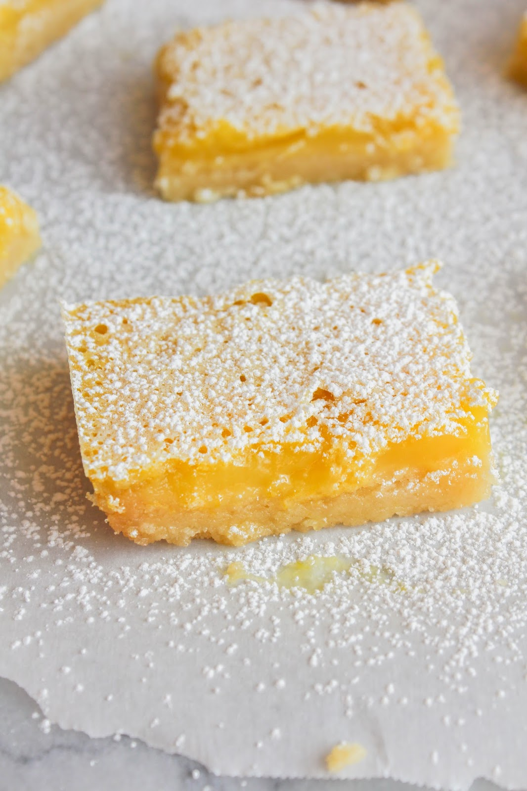 Meyer Lemon Bars #SundaySupper
