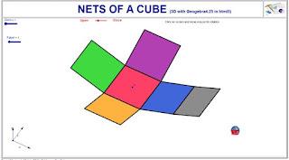 http://dmentrard.free.fr/GEOGEBRA/Maths/export4.25/Cubenet.html