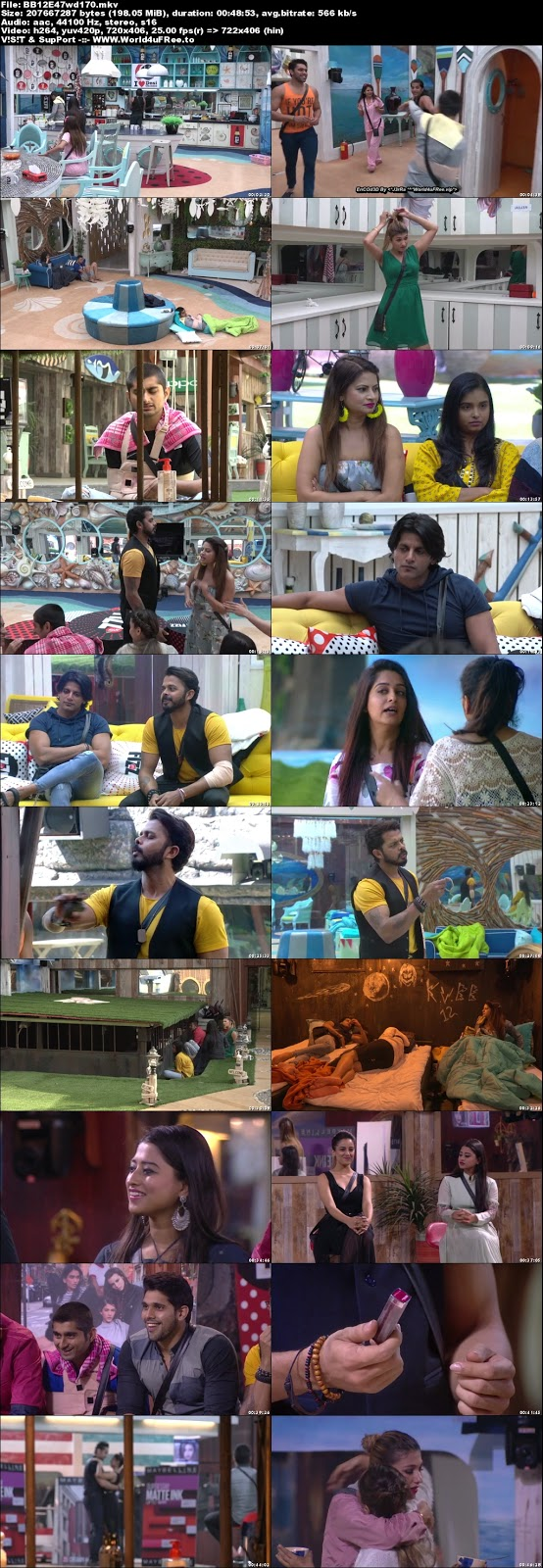 Bigg Boss 12 Episode 47 02 November 2018 WEBRip 480p 170Mb x264 world4ufree.vip tv show Episode 47 02 November 2018 world4ufree.vip 200mb 250mb 300mb compressed small size free download or watch online at world4ufree.vip