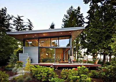 Desain rumah minimalis gaya Amerika