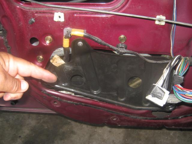 Diy 98 02 Corolla Window Regulator Amp Motor Replament