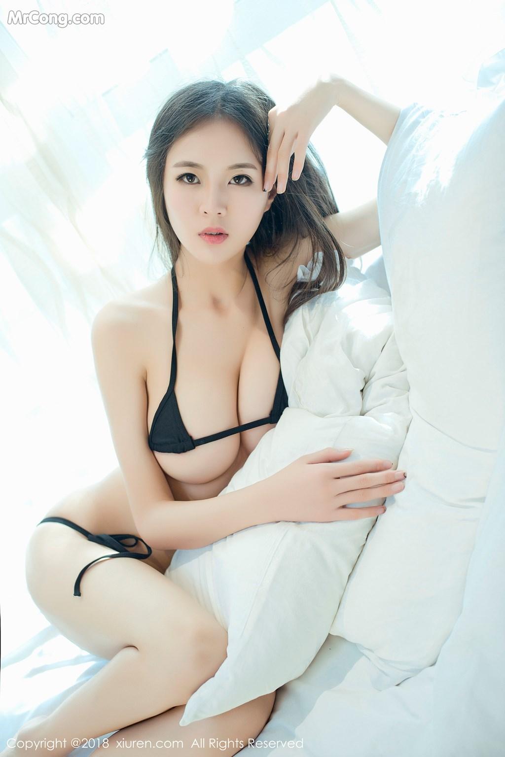 Image XIUREN-No.1003-Mote-Yue-Yue-MrCong.com-007 in post XIUREN No.1003: Người mẫu Mote Yue Yue (模特悦悦) (46 ảnh)
