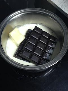 Derretir cobertura de chocolate