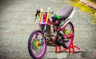 Top foto motor drag