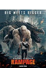Rampage (2018) BRRip 1080p Latino AC3 5.1 / ingles AC3 5.1