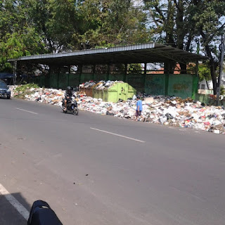 Anggaran solar Habis Sampah Mulai Menumpuk Di Kota Cirebon