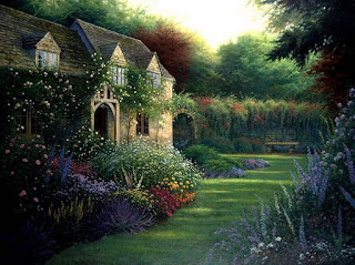 paisajes-con-casas-de-campo-realistas-pinturas vistas-casas-campos