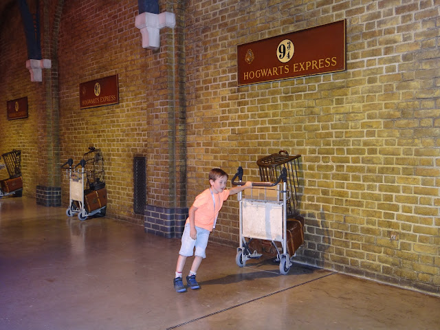 Harry Potter Studio Tour: Platform 9¾