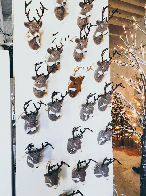 CANVAS Canadian Tire Christmas Reindeer Ornaments