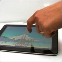 Сенсорный экран планшета