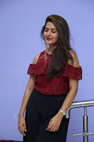 Pavani Gangireddy in Cute Black Skirt Maroon Top at 9 Movie Teaser Launch 5th May 2017  Exclusive 045.JPG