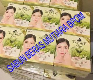 grosir sabun beras mutiara k brothers