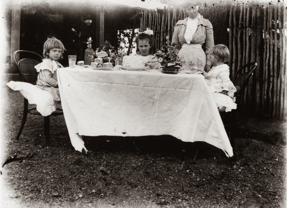 The Passion Of Former Days Children S Tea Parties