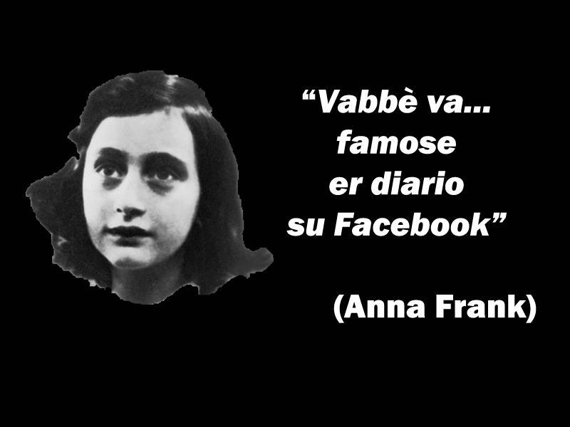 Anna Frank Diario Citazioni E Frasi Improbabili Dei Personaggi