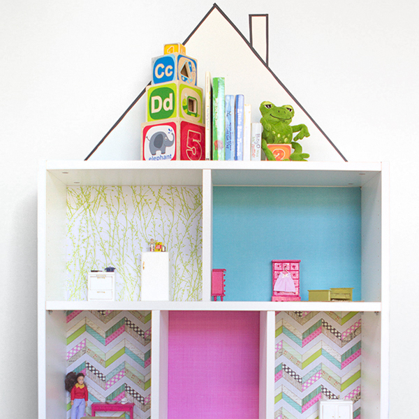 Serenity Now Ikea Shopping Trip And Home Decor Ideas: Bookcase Dollhouse: IKEA Hack