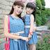 Dress Copule Korea Style Ibu Dan Anak DR 128907