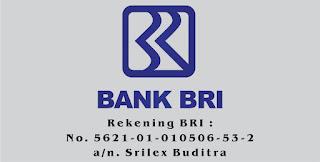 Silahkan Transfer ke Rekening BRI