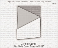 Our Daily Bread designs Z Fold Cards