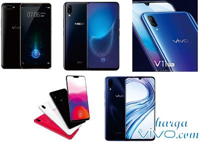 daftar harga vivo under display terbaru