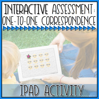 One-to-One Correspondence Counting activity using the free app, Shadow Puppet EDU
