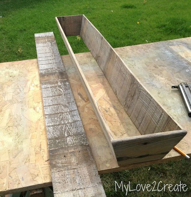 MyLove2Create, long tapered crate