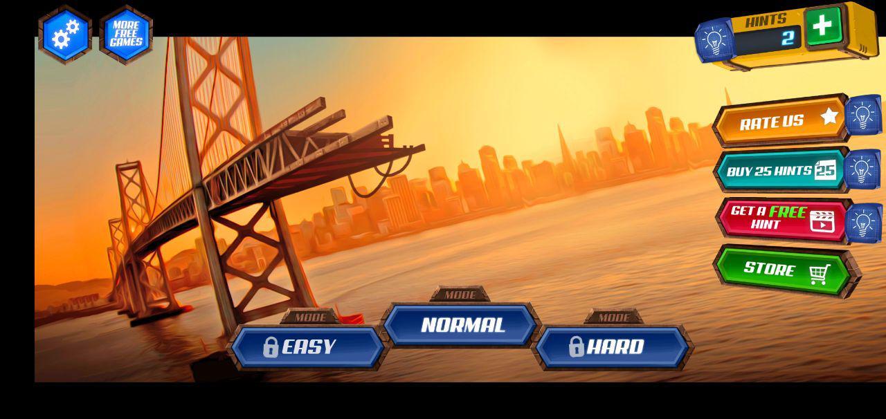 gameplay bridge construction simulator, game android paling seru, game android terbaru, game android terbaik,