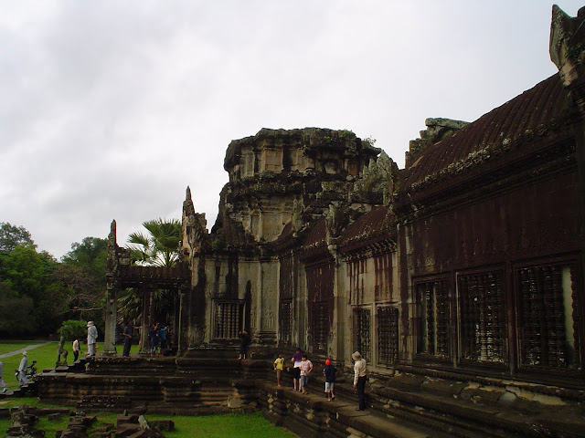 Building Temple at Angkor - Cambodia