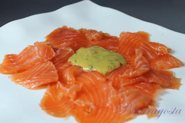salmone marinato svedese gravad lax