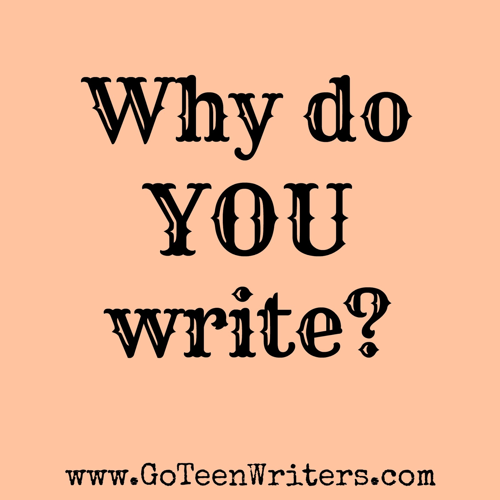 why do i write Joshua said: well, i write to experience the adventures i normally can't in  so i  put pieces of myself into each character, and write the story i would want to live.