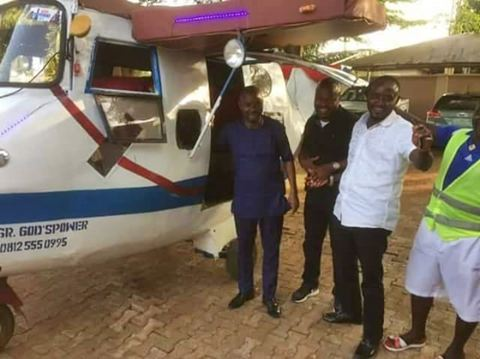 Wow! Delta Engineer Converts Keke Napep to 'Aeroplane' (See Photos)