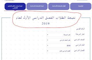 نتائج امتحانات النقل محافظة القاهرة ابتدائي واعدادي ترم أول 2019
