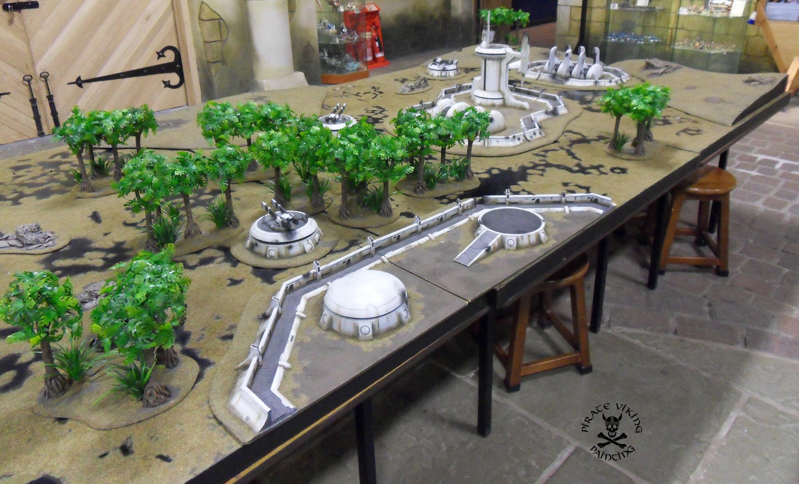 Pirate Viking Painting: A Gaming Table Is Born - Part 1, Schemes and ...