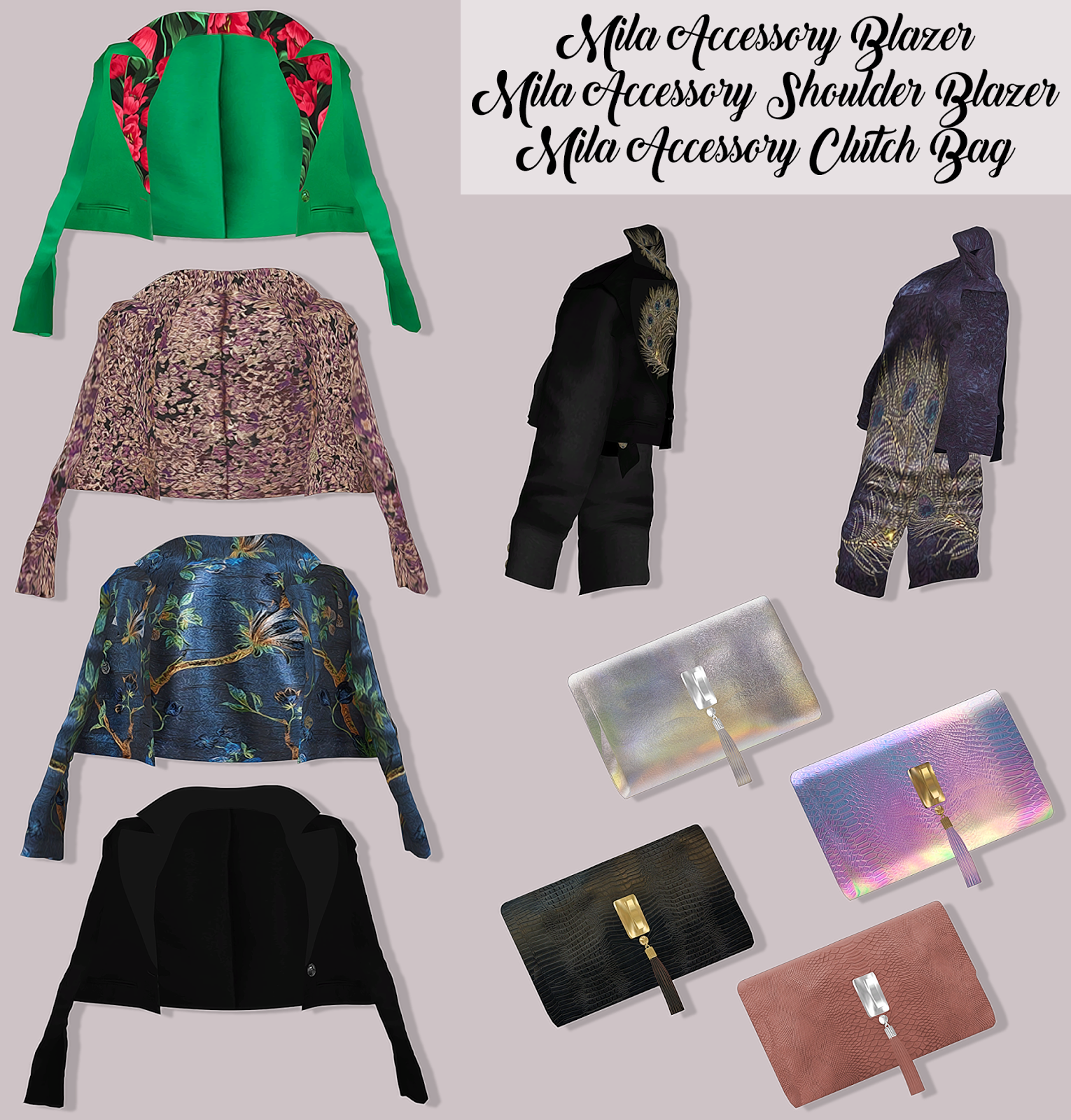 Одежда как аксессуар Previewaccessories