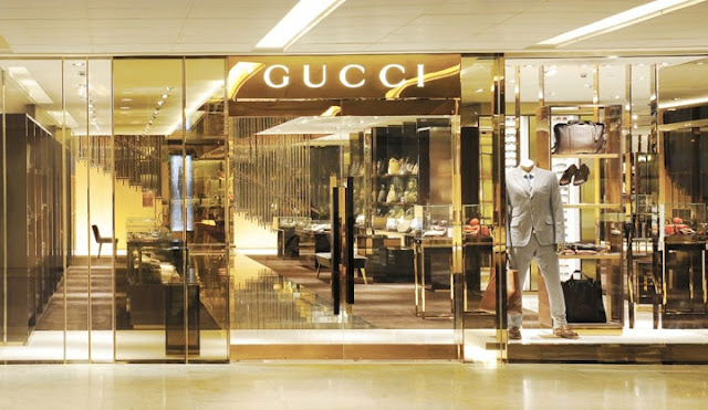 Lojas de roupas de marca em Florença