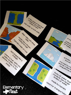 FREE Landform activity- Teaching Landforms:  Hands-on activity ideas for kids and no-prep engaging landform resources