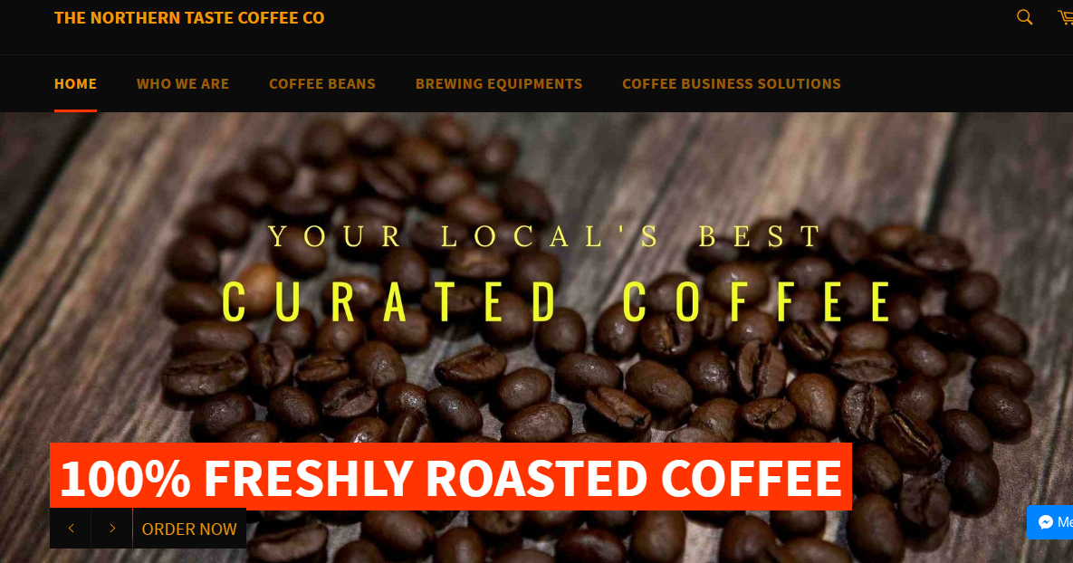 The Northern Taste Coffee Co's New Website Makes It Easier to Get Fresh Coffee at Home