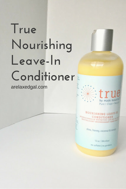True Nourishing Leave-In Conditioner review - arelaxedgal.com