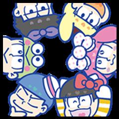 おそ松さん×サンリオキャラクターズ