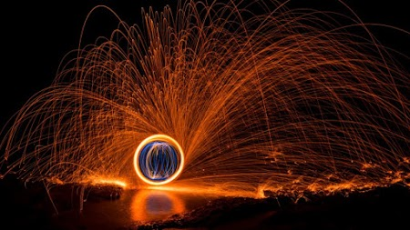 2 Hot Light Painting