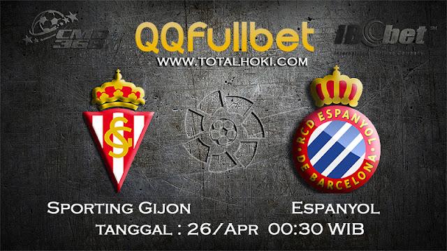 PREDIKSIBOLA - PREDIKSI TARUHAN SPORTING GIJON VS ESPANYOL 26 APRIL 2017 (LA LIGA SPANYOL)