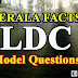 Kerala Facts- LDC Model GK Questions- Set 42