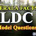 Kerala Facts- LDC Model GK Questions- Set 42