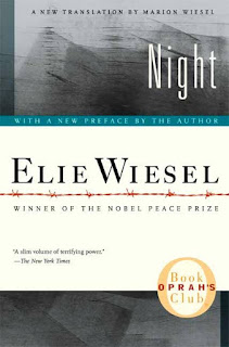 http://www.amazon.com/Night-Elie-Wiesel/dp/0374500010?ie=UTF8&keywords=Night%20Elie%20Wiesel&qid=1464295508&ref_=sr_1_1&sr=8-1