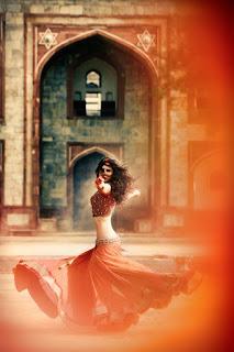 Red Designer Ghagra Choli (8).jpg