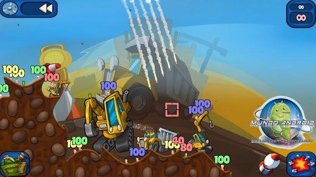 Jugabilidad de  Worms 2: Armageddon