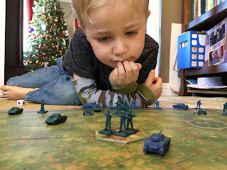 Playing Memoir '44 with kids 4 1/2 years old SquadPainter
